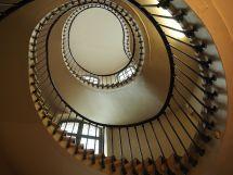 An irregular spiral at Val de Grace