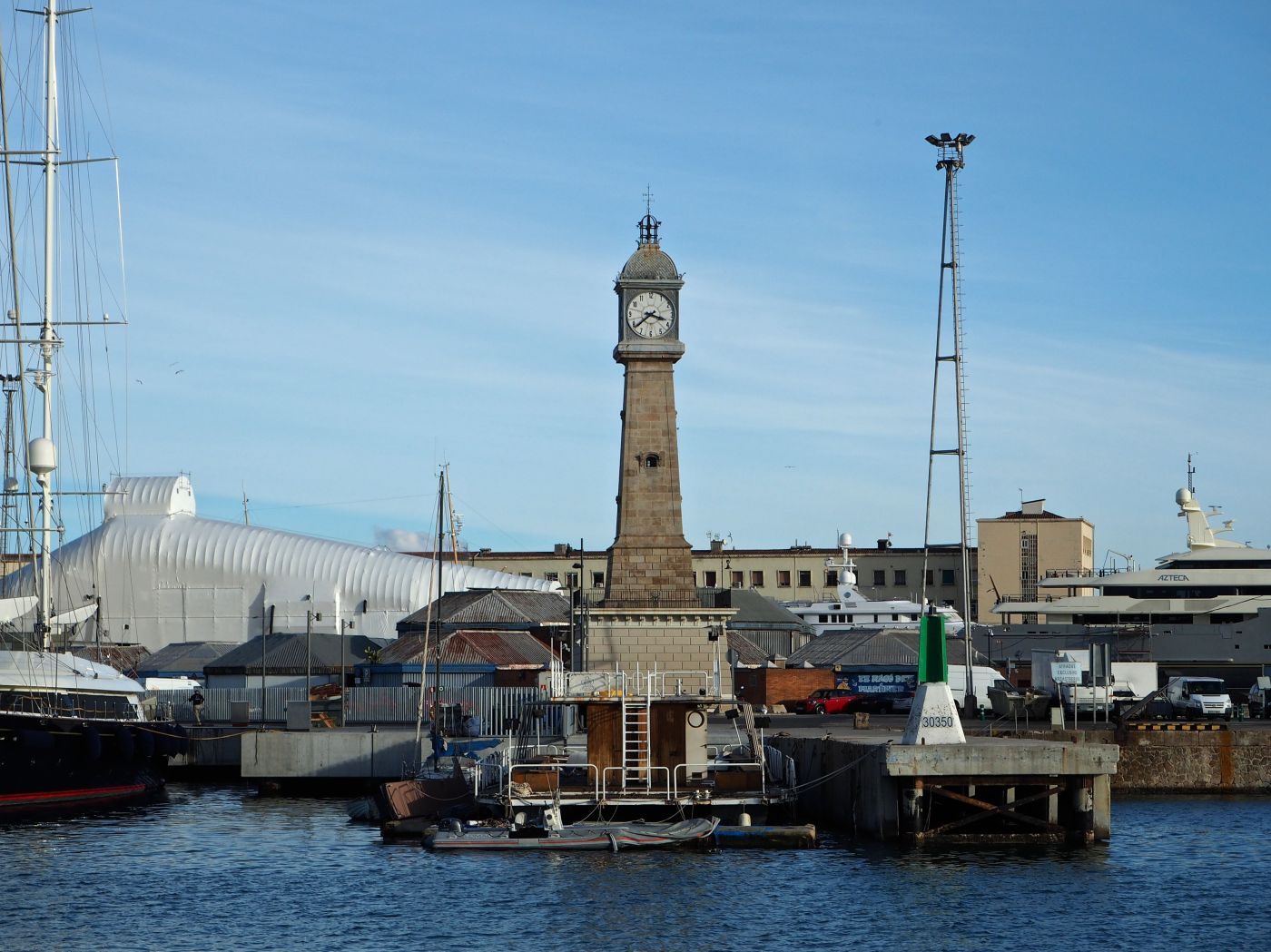 barceloneta clock tower