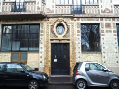 February - ceramic style in rue Campagne Premier
