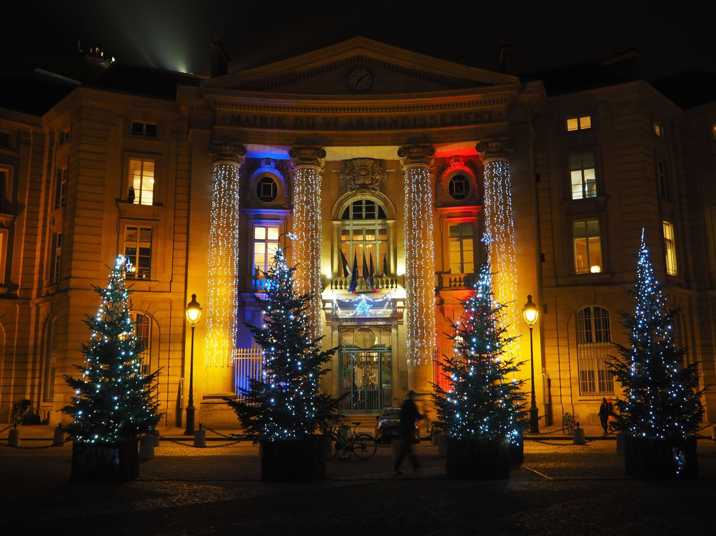 mairie du Ve Paris Christmas 2017