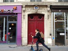 November - scooting on Boulevard St-Germain