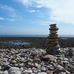 Lindisfarne pebbles - May