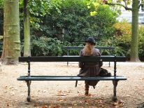 Early autumn style in the Jardin du Luxembourg