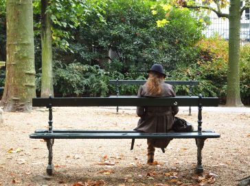Early autumn in the Jardin du Luxembourg