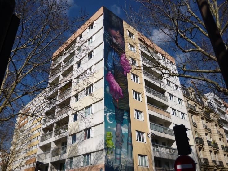 bom-K mural Boulevard Vincent Auriol paris 13