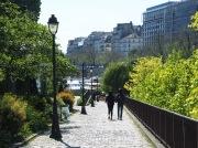 in summer at Port de l'Arsenal...