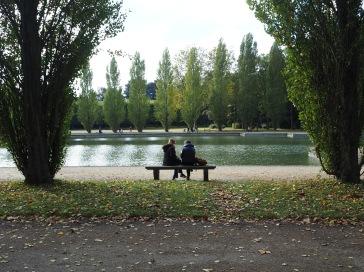 Conversation at Parc de Sceaux.