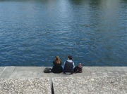 A pause by the Seine.