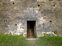 though in later centuries some less imposing ways through the walls were added.