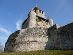 The chateau at Provins - February 2018