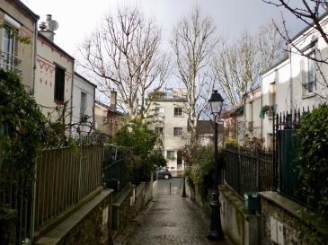 Quartier de la Mouzaïa Paris 20