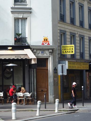 Corner of Rue de Tolbiac and Rue Baudricourt - Paris 13 - August 2017