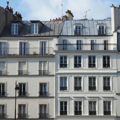 Classic Parisian building lines