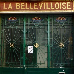 Sunbursts and spirals at the Bellevilloise - Paris 20