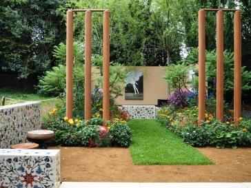 Chelsea Flower Show 2018 British Council in India garden