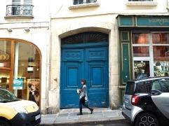 Going downhill in St Germain - September 2017