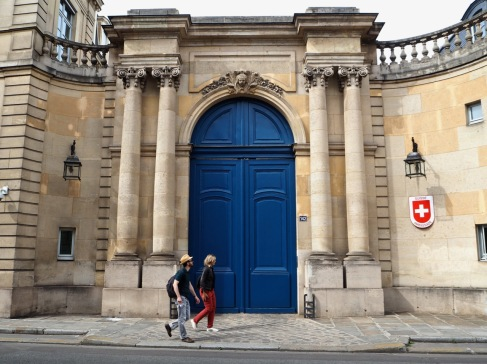 More oversized doors on Rue de Grenelle - April 2017