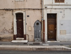 An inexplicable trio in Marseille - June