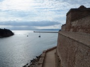 Looking out from Marseille to the Îles de Frioul - June 2018