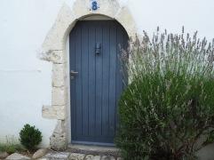 cottage door St Martin de Ré
