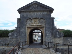 The village is ringed by massive fortifications, legacy of the 17th century wars of religion