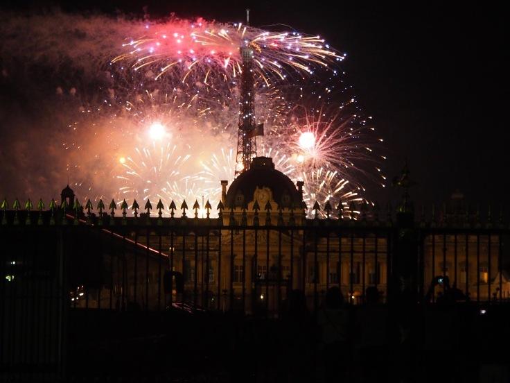 Bastille Day fireworks Paris