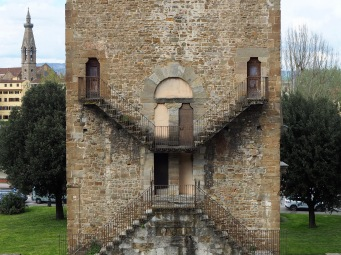 A few spare doors - Torre di St Niccolò, Florence