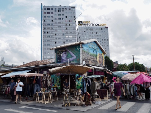 Just outside the city limits of Paris, some of the St Ouen markets have a small town atmosphere