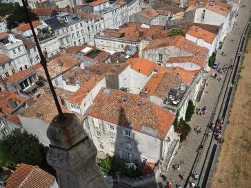 Looking down from the Lantern Tower - La Rochelle - July 2018