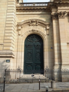 An entrance to the School of Charters - just next door to the chapel