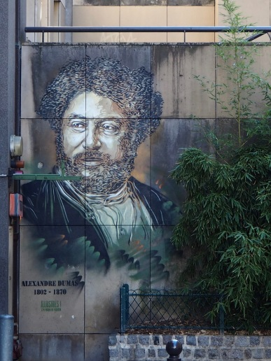 Alexandre Dumas (1802-1870) playwright and novelist - his novels (including the Three Musketeers and the Count of Monte Cristo) were originally published in installments in daily newspapers