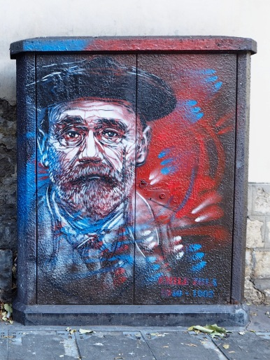 Émile Zola (1840-1902) writer and journalist - maybe best known for his rôle in the Dreyfus affair, defending falsely convicted army officer Alfred Dreyfus in an open letter published under the title J'accuse...