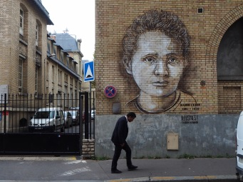 Marie Curie (1867-1934) Nobel prize winning physicist and chemist honoured for her pioneering work on radioactivity - the first woman to be awarded a Nobel prize