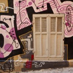 Street art In Marseille in June