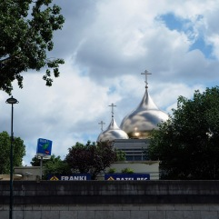 Seen from the River Seine in June