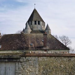 Provins on a bitterly cold day in February