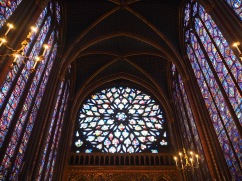 The rose window was added in the fifteenth century
