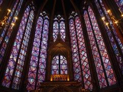 stained glass sainte chapelle paris