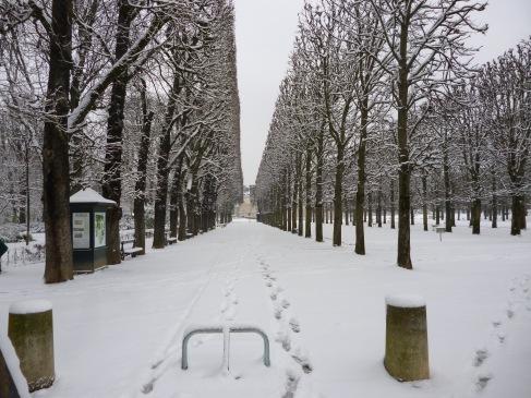 Jardin du Luxembourg - February