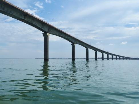The bridge to Île de Ré - July 2018