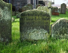 'Here lyeth the body of Thomas Lee, Rope Maker and Flax Dresser...'