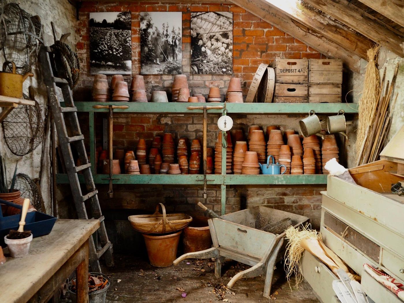 illustration of potting shed at Floors Castle