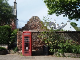 Phone box in Cromarty - May 2019