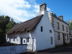 The birthplace of Hugh Miller, nineteenth century geologist, writer and collector of folklore