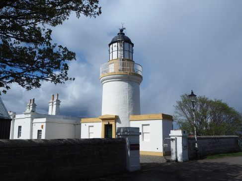 Cromarty lighthouse - now a wildlife research station