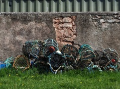 A store of lobster pots