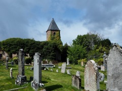 The old Gaelic Church - partly swallowed by Ivy
