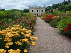 It was a cloudy day but this border was glowing with warm colour and making strolling visitors smile