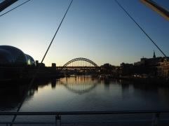 Newcastle bridges - December