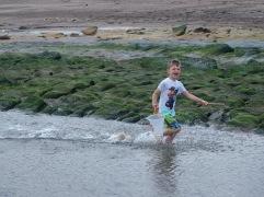 Busy on the beach - August